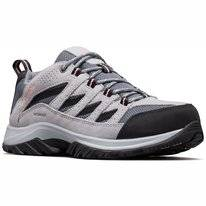 Trail Running Shoes Columbia Women Crestwood Waterproof Grey Ash Salmo